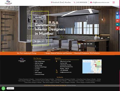 interior website designing company in mumbai